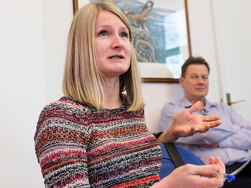 Det märks att vi har fått en ökad medvetenhet kring jämställdighetsfrågorna på Sveaskog, till exempel genom att medarbetare hör av sig till oss på HR med förbättringsförslag inom olika områden, säger Lisa Liljenstrand.
