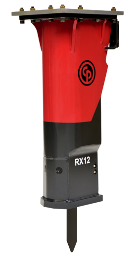 Chicago Pneumatic RX 12 hydraulic breaker