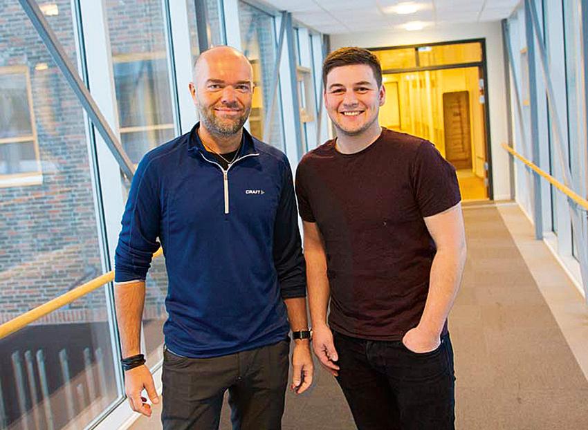 Smartdok har rekryterat Raymond Sivertsen och André Harila till support- respektive utvecklingsavdelning på företagets huvudkontor i norska Alta.