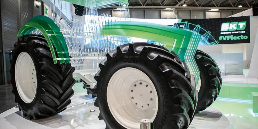 Gripen Wheels  lanserar BKT:s nya traktordäck Agrimax V-Flecto. Det nya däcket premiärvisades på Sima-mässan som arrangerades i Paris den 26 februari till 2 mars.