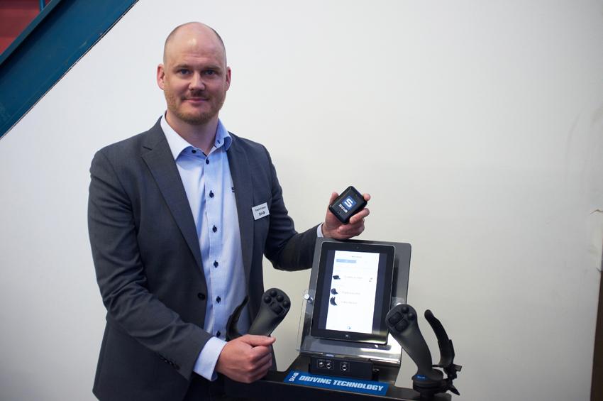 Tool Recognition som är en del av nya Quantum plattformen från SVAB består av batteridrivna trådlösa enheter som fästs på redskapen, förklarar Fredrik Eriksson, vd och marknadschef på SVAB.