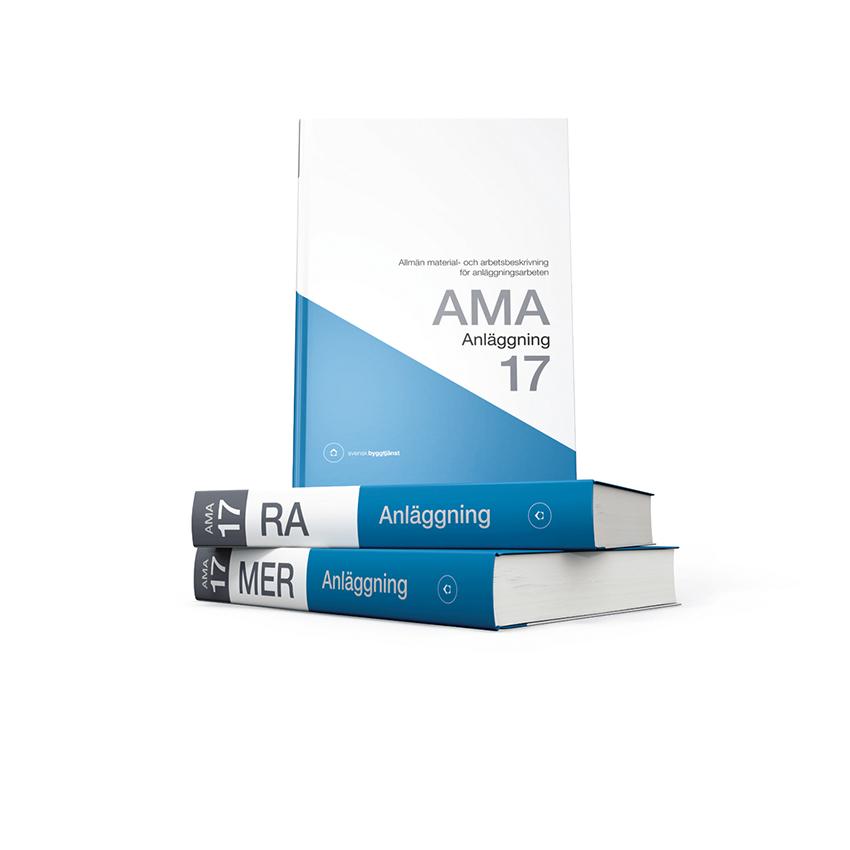 Nu är det dags för lanseringen av den nionde upplagan av anläggningsdelen – AMA Anläggning 17. Arbetet med AMA Anläggning 17 påbörjades i september 2015.