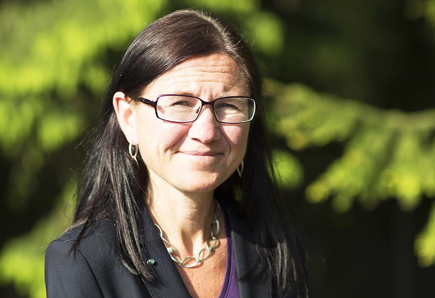 Charlotte Bengtsson, vd på Skogforsk.