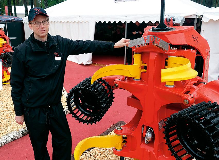 Anders Johansson, konstruktionschef på SP Maskiner.