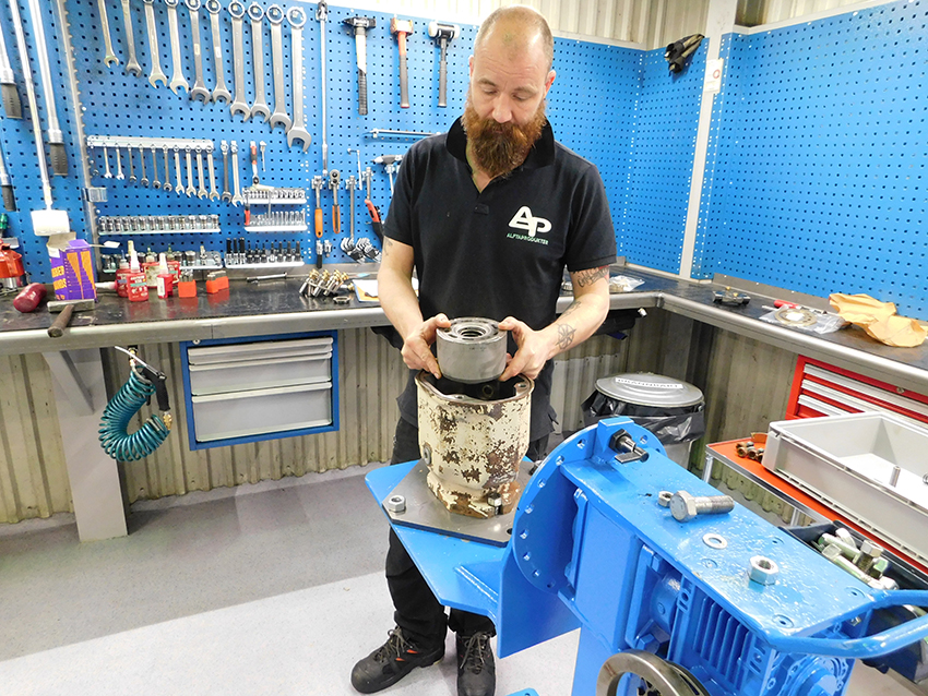 Sedan hösten 2016 har Alftaprodukter arbetat för att bli certifierad Servicepartner för Rexroth Bosch Group. och den 13 september nådde företaget målet och blev certifierade.