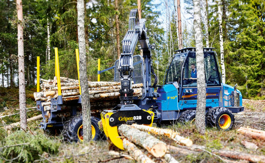 Rottne Industri. Skogsmaskiner.Fotograf Mats Samuelsson.