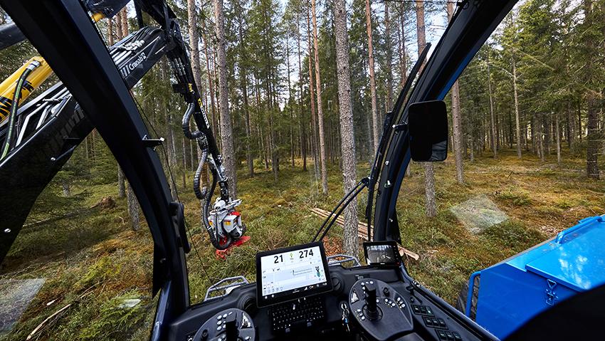 Rottne Industri. Skogsmaskiner. Fotograf Mats Samuelsson.