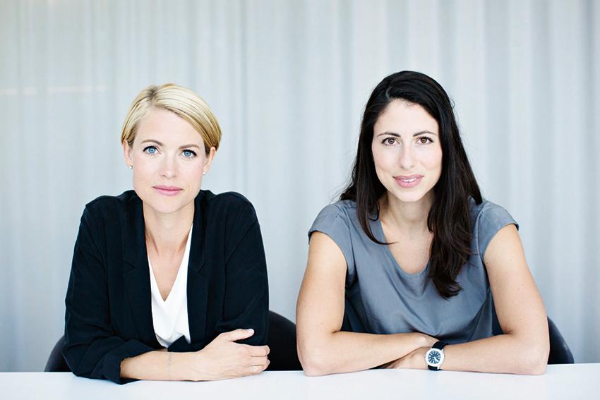 Sara Wimmercranz och Susanne Najafi, riskkapitalister på Backing Minds.