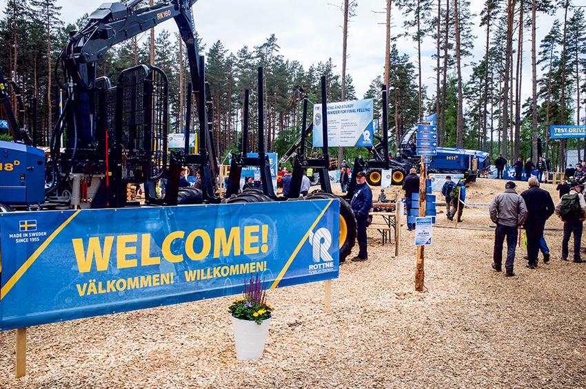 På SkogsElmia som arrangeras nästa sommar kommer miljövänligt skogsbruk vara i fokus. Foto: Per Eriksson, Anläggningsvärlden.