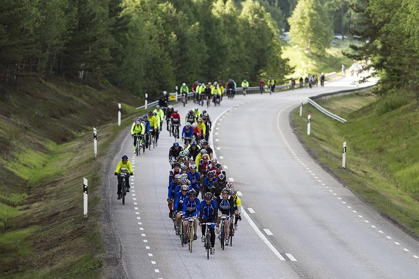 Motala, 2013-06-14--15, Vätternrundan, mellan Jönköping och Fagerhult, Foto: Micke Fransson