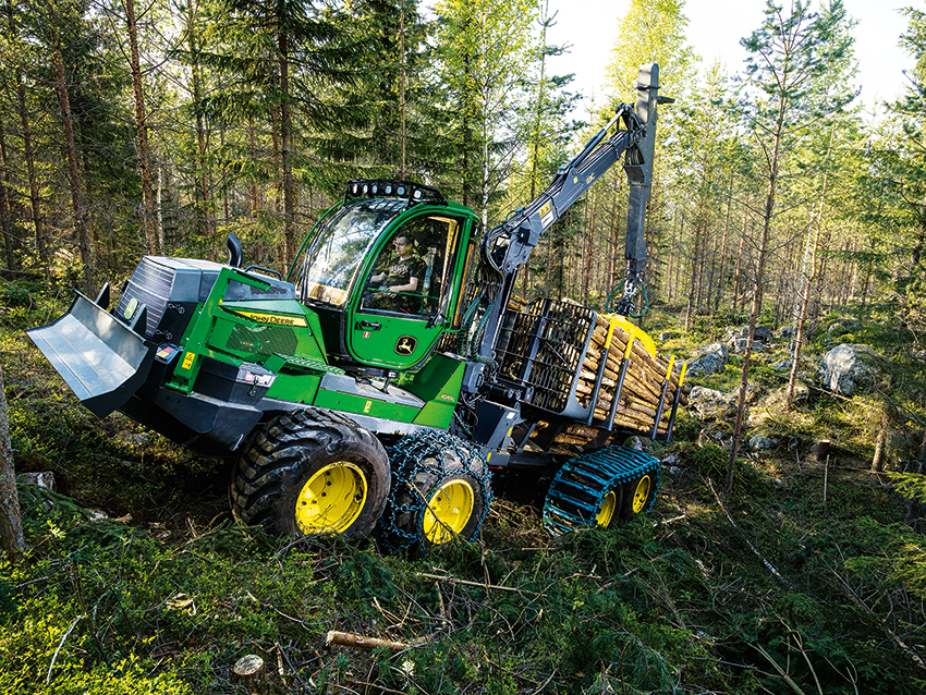 John Deere 1010G Forwarder