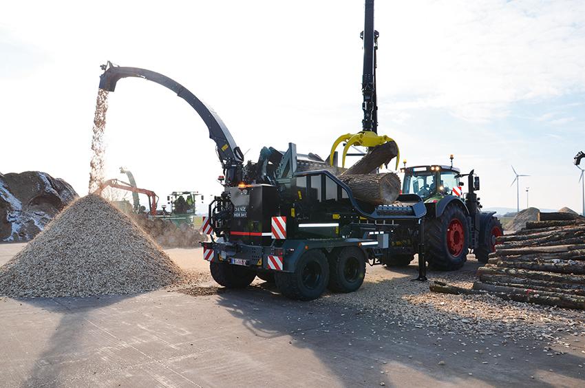 Trenden mot allt större och starkare traktorer fortsätter. Därför lanserar Jenz nu en flishugg i det större segmentet med en inmatning på hela 140 cm – HEM 841. Den nya kraftuttagshuggen är avsedd för stortraktorer på mellan 250 och 550 hästkrafter. Svensk generalagent för Jenz är Värmdal Traktorservice i Karlstad.