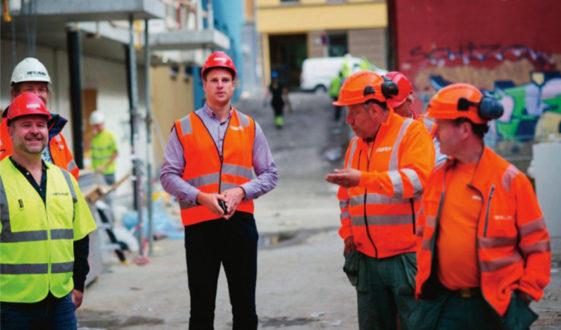 Att Visma såg den största potentialen i SmartDok bland alla kompetenta leverantörer av system inom byggbranschen i Sverige och Norge är fantastiskt och säger en hel del om hur bra produkten och affärsmodellen är, säger Steffen Nerdal, vd på Visma Smartdok.