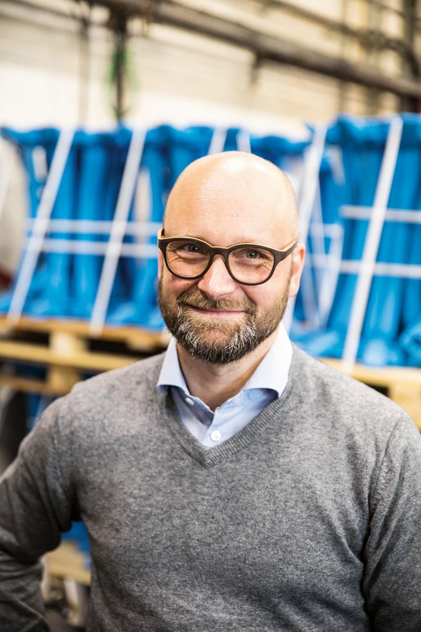 – Den skandinaviska marknaden är extremt viktig för oss, såger Josef Primus, chef för skogsprodukter på Pewag. Samtidigt jobbar vi brett över hela världen, betonar han.
