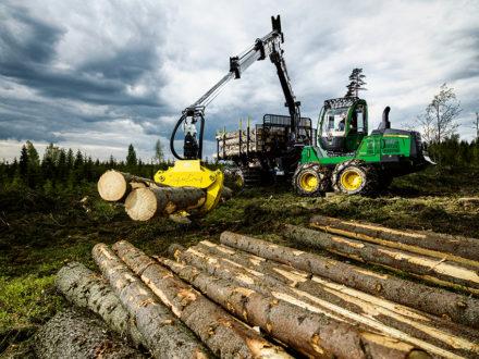 Den skotare som det levererats flest maskiner av i Sverige under 2018 är John Deeres 1510G som registrerats i 33 exemplar.  Foto: Elina Suuriniemi