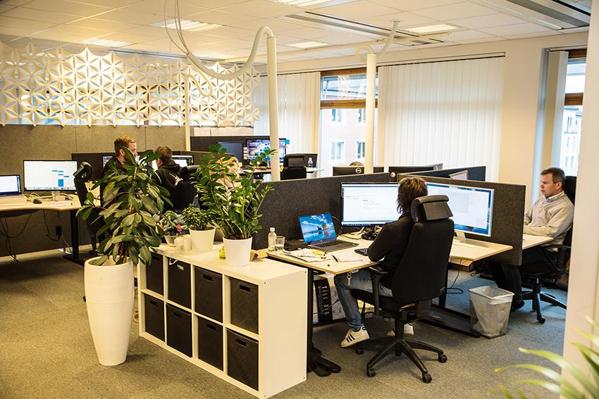 Nordiska Entreprenadsystem har ett 30-tal anställda vid kontoret i centrala Linköping.