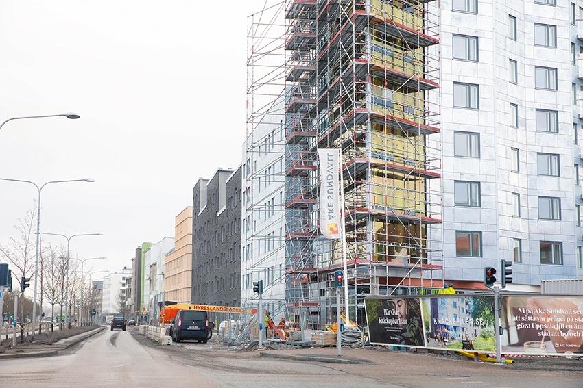 Bygg- och entreprenadkonjunkturen visar på stora regionala skillnader. Medan bromsarna slagit till i Stockholm så är det fortsatt bra om än långsammare tillväxt i Skåne och Västsverige. Foto: Ewa Eriksson.