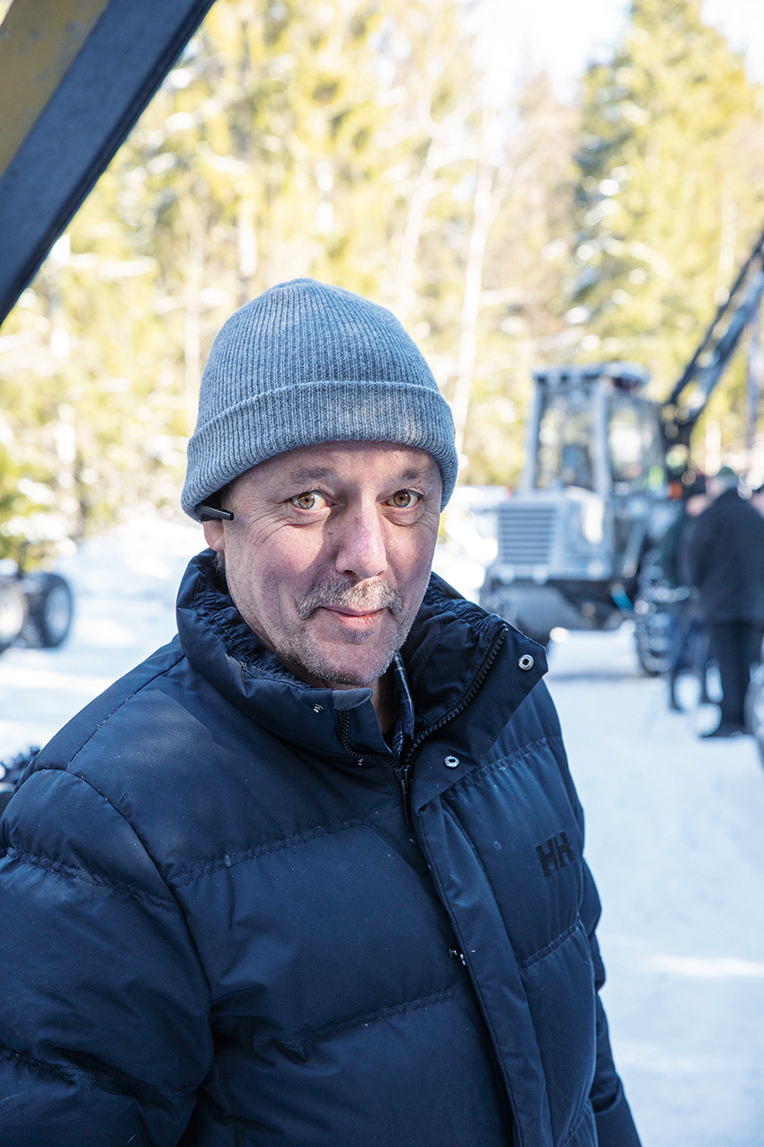 Stefan Asp, Marknadschef på Vimek.