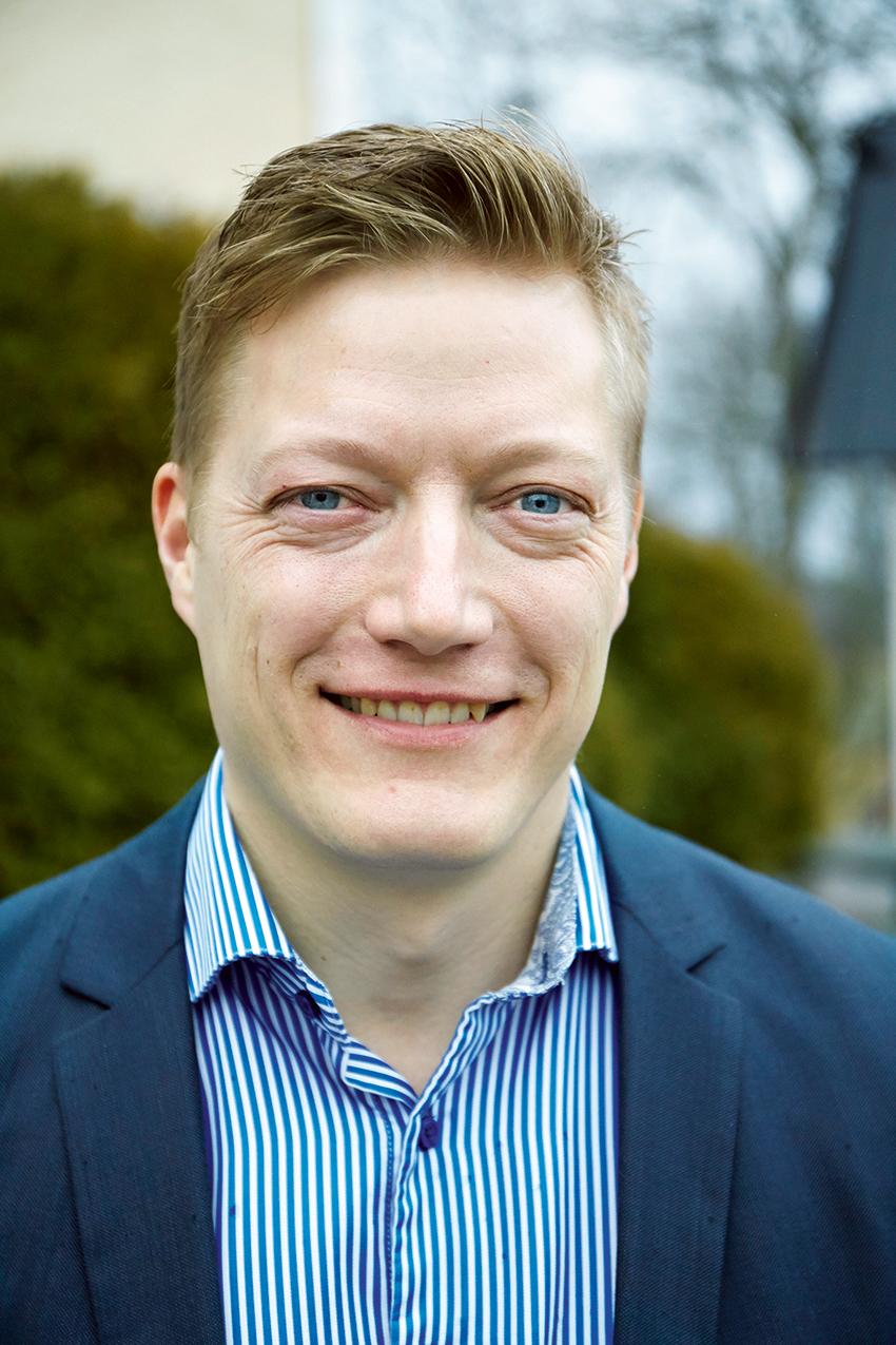 Roger Johansson, marknadschef på Sveaskog.