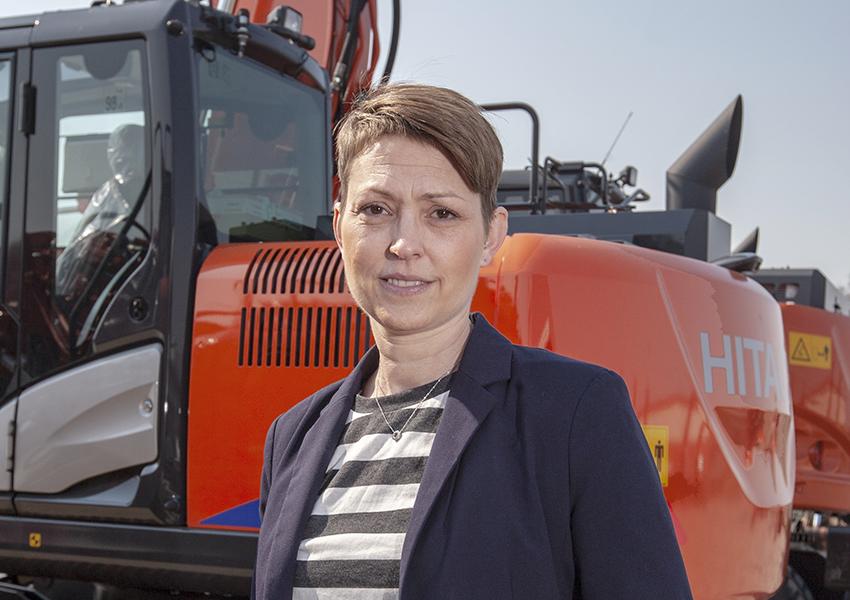 Roses Åkesson, ny marknadschef på Delvator. Foto: Mats Thorner.