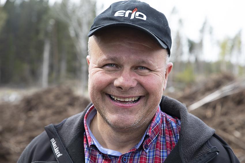 Jon Sandberg, säljare på OP Erjo. Foto: Per Eriksson