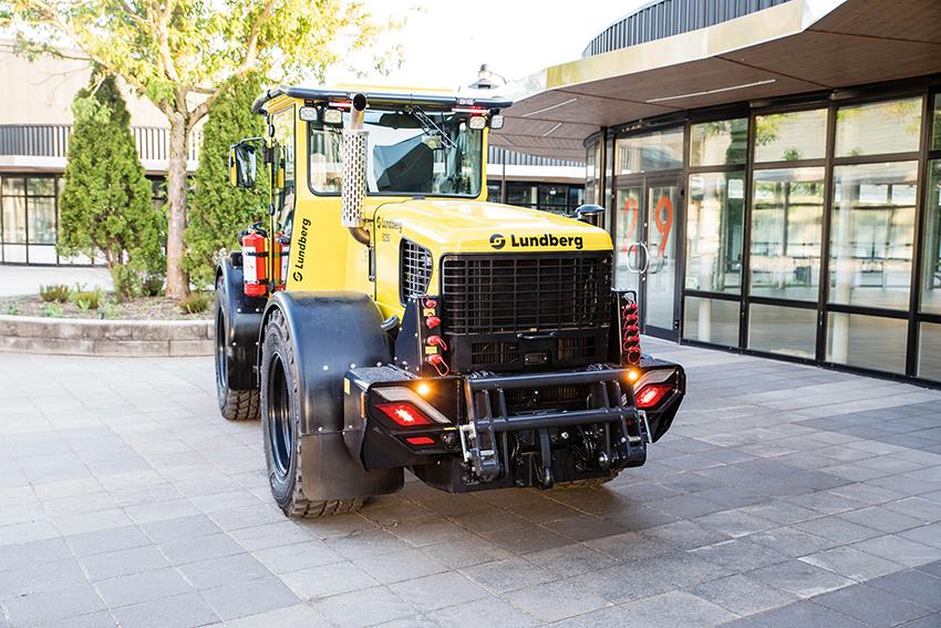 Nya Lundberg 50-serien är bland annat utrustad med hydraulisk reverserbar fläkt. Foto: Per Eriksson