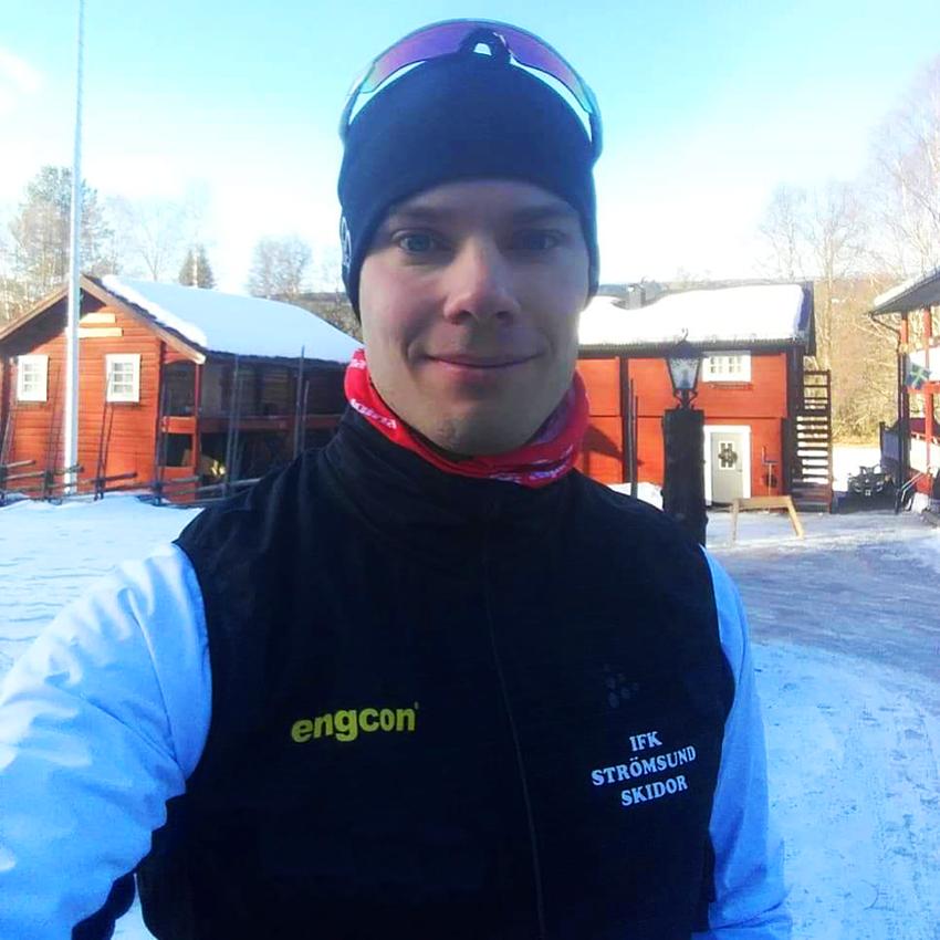 Engcon team, Magnus Näslund.