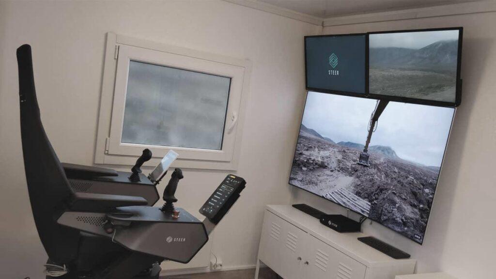 Steer AS lanserar molntjänst för fjärrstyrning av entreprenadmaskiner. Således kan maskinerna köras dygnet runt med tre maskinförare som sitter i olika tidszoner runt om i världen.