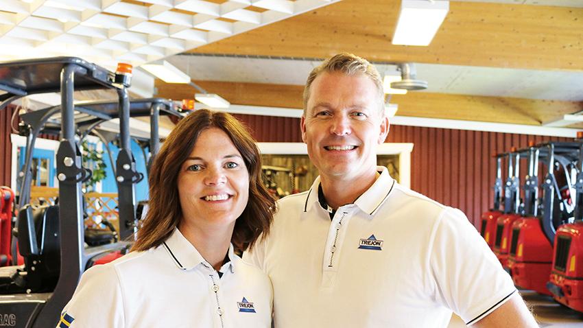 2011 genomförs det andra generationsskiftet i Trejons 40-åriga historia då syskonen Anna och Henrik Johansson driver verksamheten vidare.