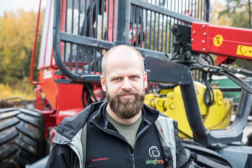 Martin Englund, forskare, Skogforsk människa/maskin-interaktion.