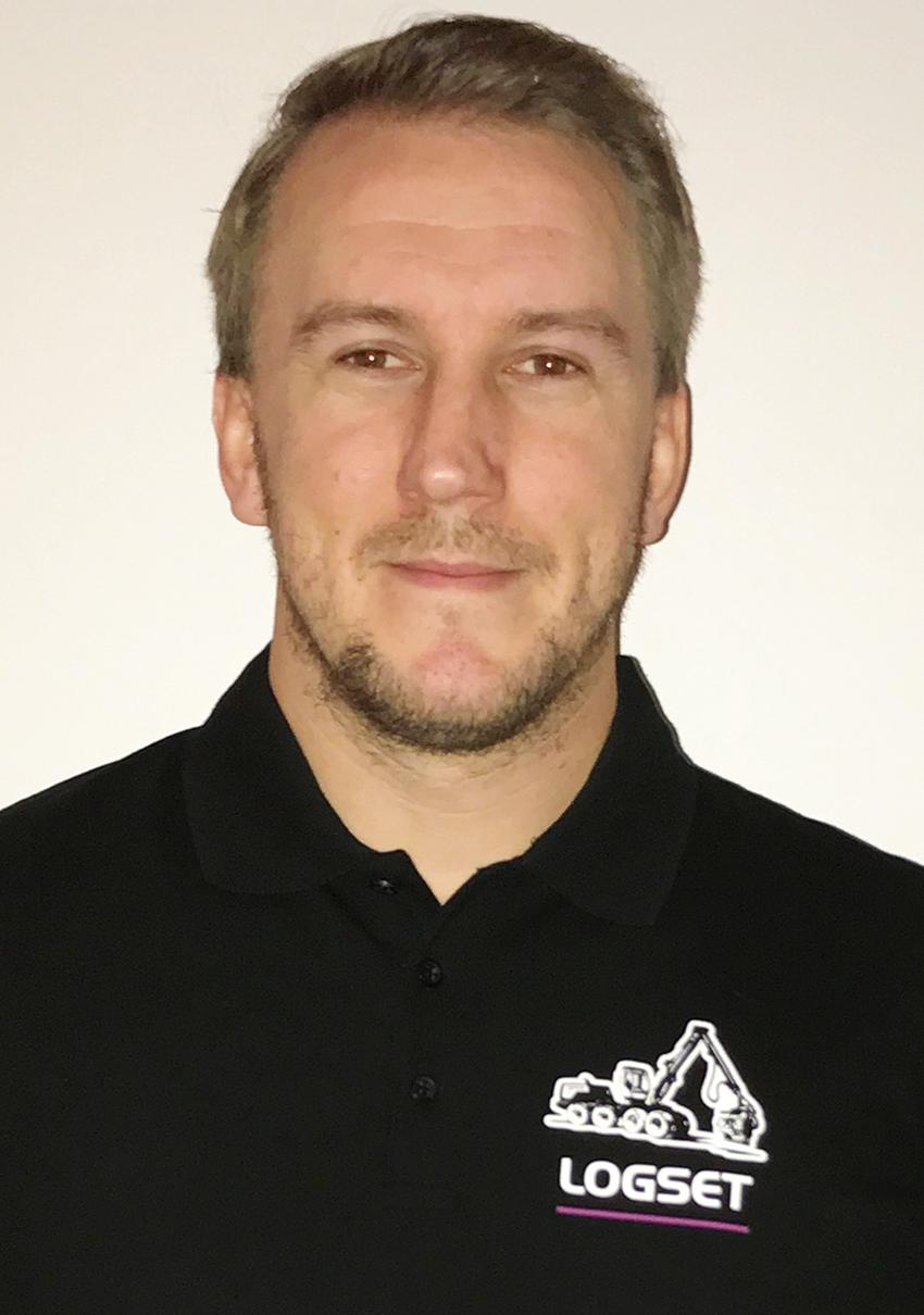 Andreas From, försäljningschef på Logset AB Sverige.