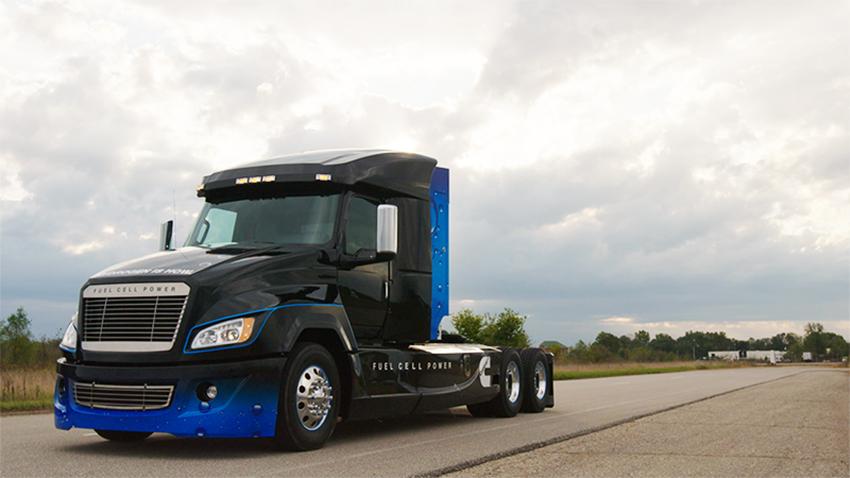 Cummins Hydrogen Fuel Cell Truck - v2