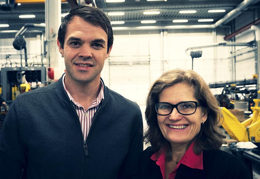 Dirk Venter och Petra Kastensson lanserar New Concept Mining.