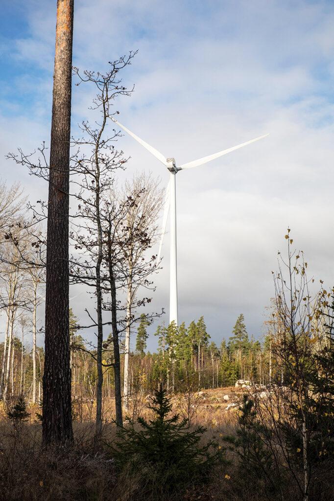 De kommande 5 åren beräknas totala bygginvesteringarna till närmare 150 miljarder i norra Sverige. Det största projektet är Vindkraftspark Markbygden Piteå 1 100 vindkraftsverk med en beräknad kostnad på 6 miljarder kronor. Foto: Per Eriksson