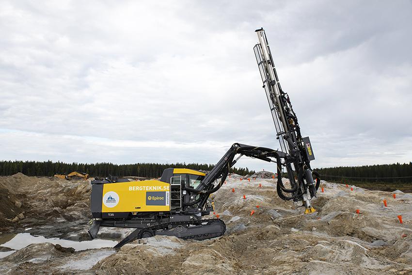 Foto: Nordisk Bergteknik.