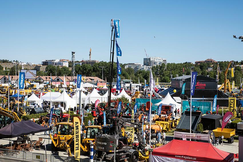 Svenska Maskinmässan som arrangeras på Solvalla travbana den 4-6 juni kommer ha 50 000 kvardratmeter utställningsyta och arrangörerna utlovar över 800 nyheter. Foto: Per Eriksson