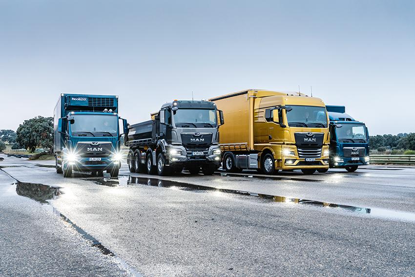 Med den nya lastbilsgeneration fokuserar MAN på fyra kärnämnen; föraren på arbetsplatsen, fordonets effektivitet, dess pålitliga användbarhet och det parnerskapet med kunderna.