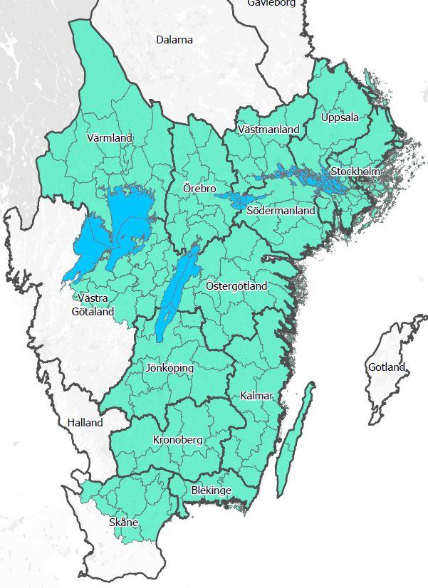 Karta: Skogsstyrelsen.