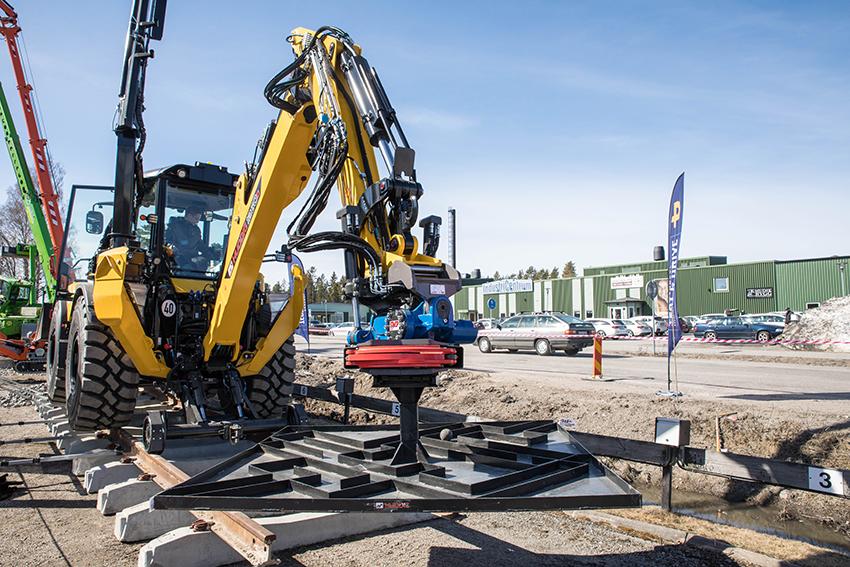 Pandrol Test & Drive som planerats att arrngeras den 21 april är inställt. Sist evenemanget arrangerades var den 19 april 2018. Foto: Per Eriksson.